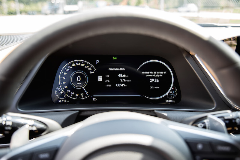 2020 Hyundai Sonata Ultimate gauges
