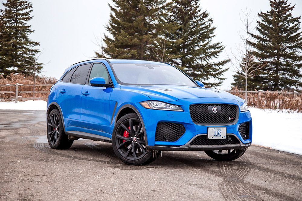 jaguar fpace svr review