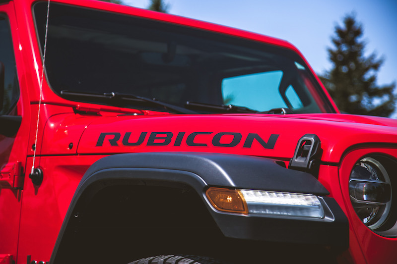2020 Jeep Gladiator Rubicon decal