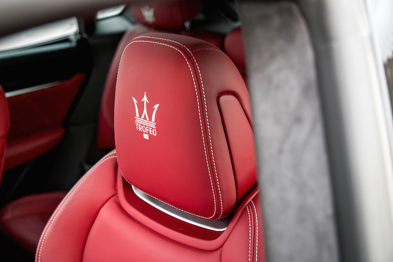 2020 Maserati Levante Trofeo headrests