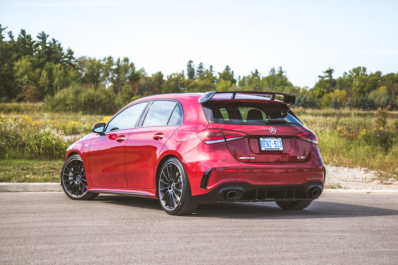 2020 Mercedes-AMG A 35 Hatchback rear