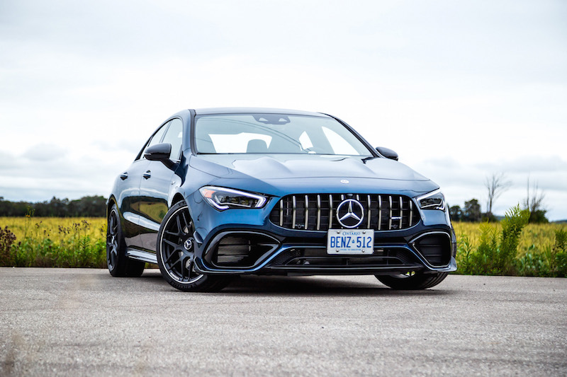 2020 Mercedes-AMG CLA 45 denim blue