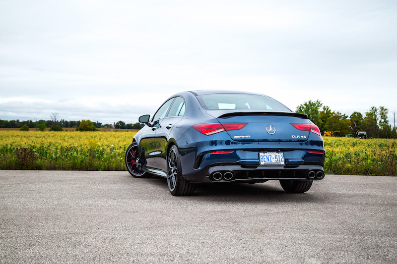 2020 Mercedes-AMG CLA 45 rear quarter