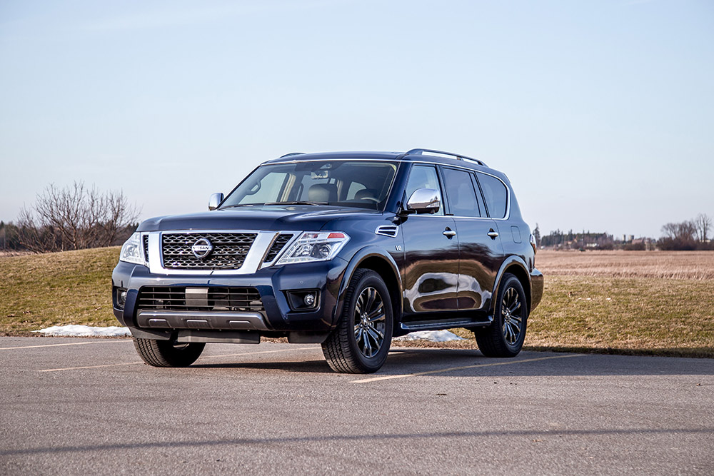 nissan armada 2020 review
