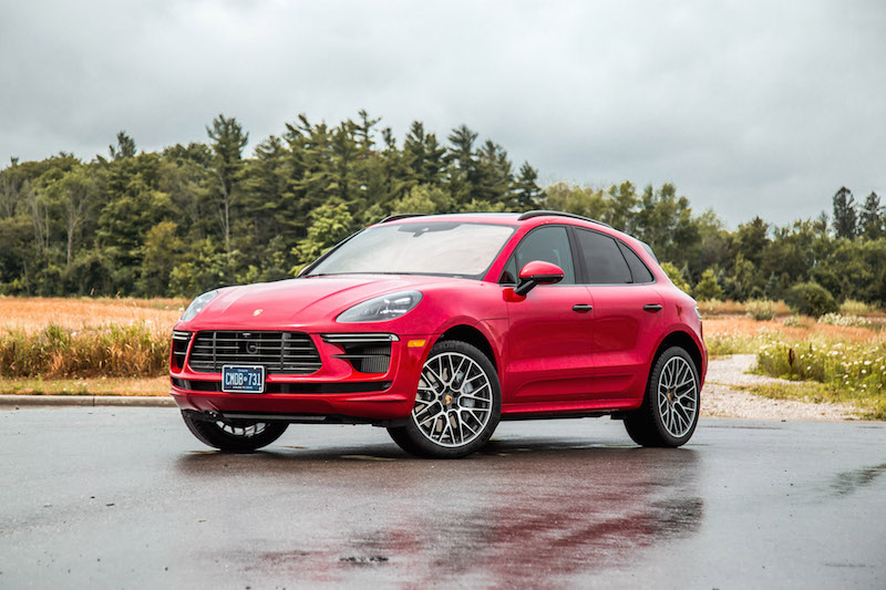 2020 Porsche Macan Turbo carmine red
