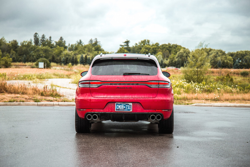 2020 Porsche Macan Turbo rear view