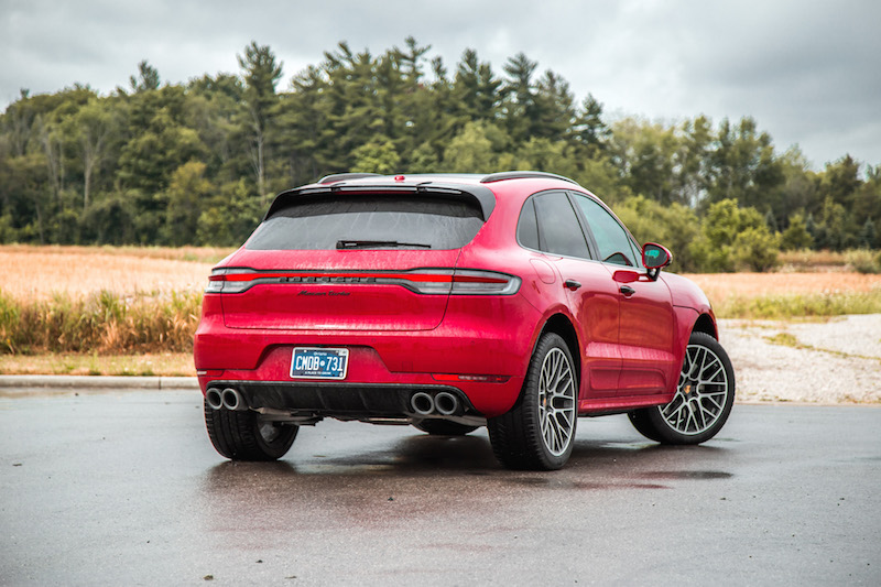 2020 Porsche Macan Turbo carmine red canada