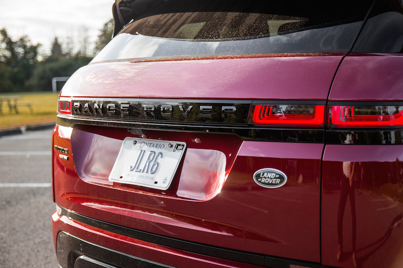 2020 Range Rover Evoque HSE R-Dynamic rear taillights