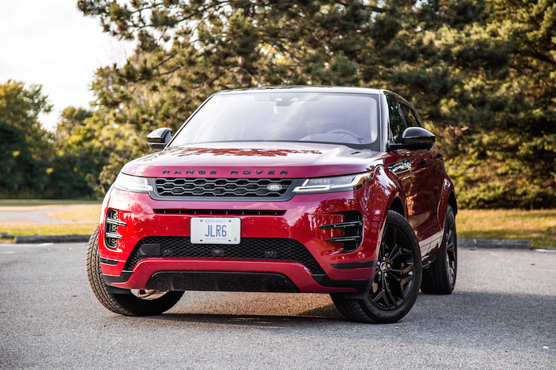 2020 Range Rover Evoque HSE R-Dynamic black package p300 awd