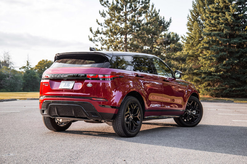 2020 Range Rover Evoque HSE R-Dynamic rear