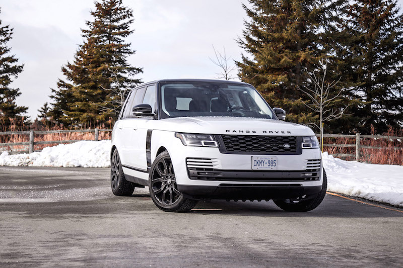 2020 Range Rover Fuji White atlas side fender