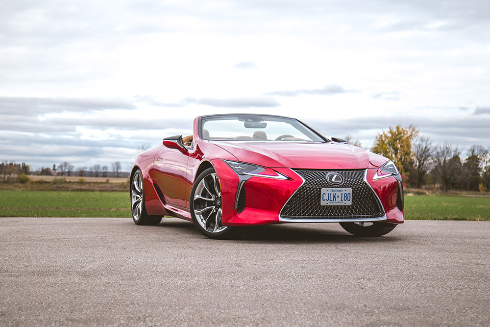 2021 Lexus LC 500 Convertible Infrared Canada new model