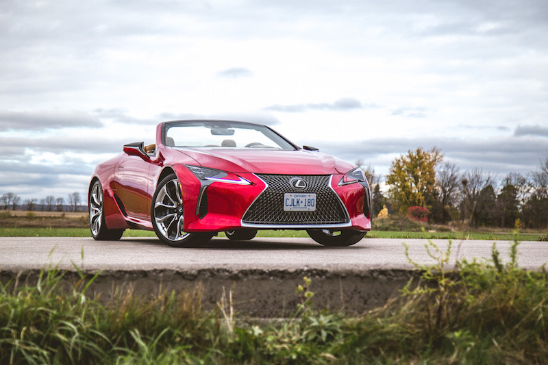 2021 Lexus LC 500 Convertible Infrared
