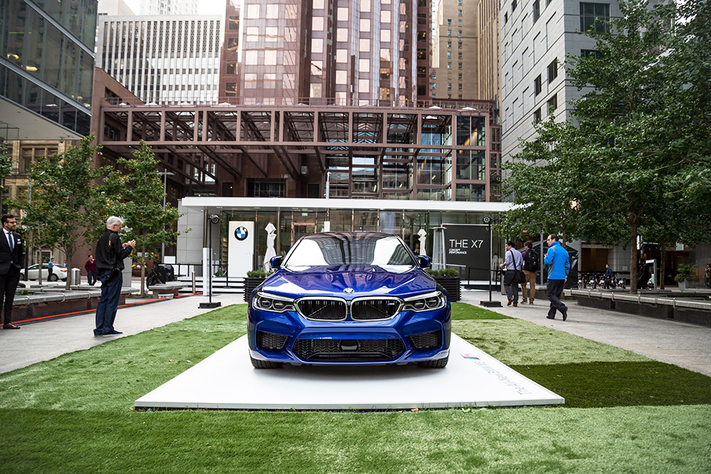 bmw luxury excellence pavilion toronto x7 m5
