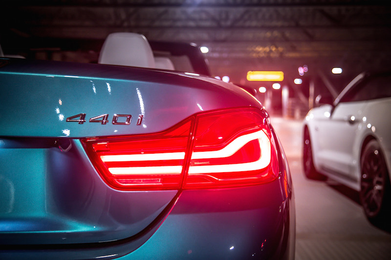 bmw 440i rear lights