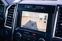 trailer backup assist camera view behind