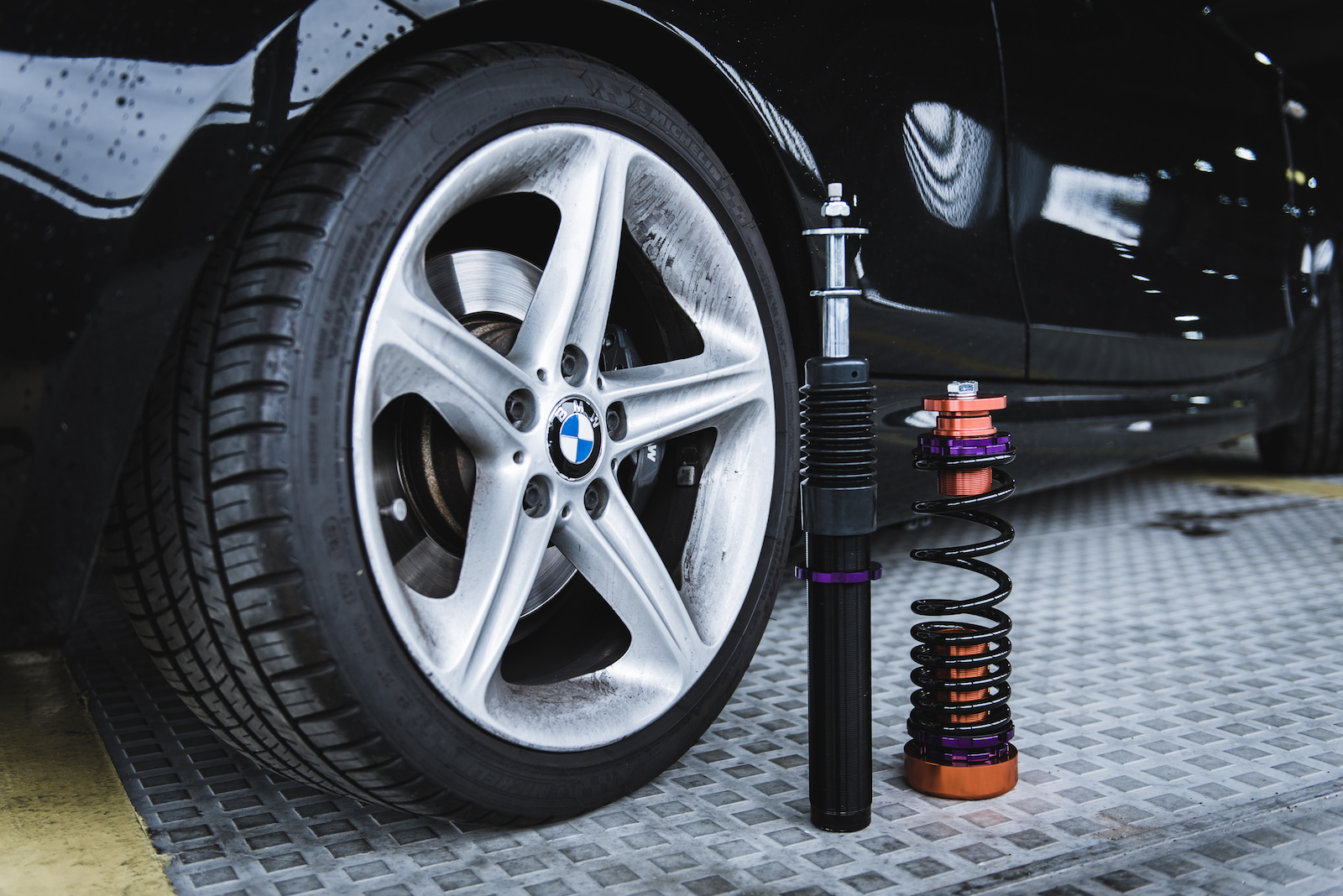 Project 1 Neo Motorsport Dynamic Purple Coilovers