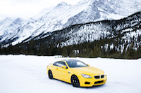 pennzoil motor oil bmw m6 yellow tundra canadian rockies alberta