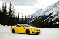 tundra bmw m6 yellow